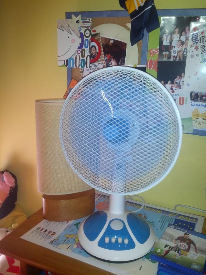 1. El ventilador y la energía eléctrica