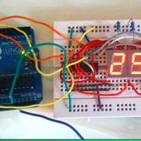 Construye tu propio termómetro digital.