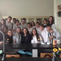 Al laboratorio en María Rafols